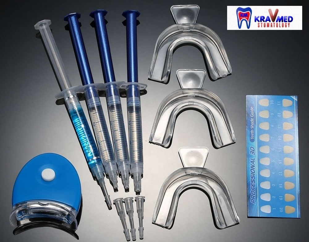 отбеливание зубов условия
